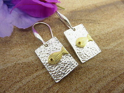 Dazzling Thai Dangle Earrings Solid 925 Sterling Silver Hand-Made Jewelry Gift
