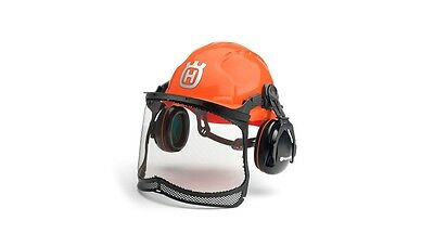 Husqvarna Classic Forest Chainsaw Helmet Visor Head Hearing Essential Protection