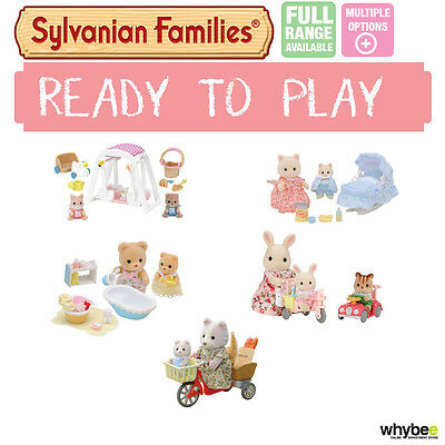 Sylvanian Families Ready To Play Range Choose Your Set Brand New In Box