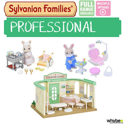 Sylvanian Families Dentist & Doctor Sets Range Choose Your Set Brand New In Box