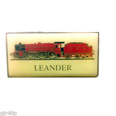 LEANDER Steam Locomotive Fridge Magnet Metal Enamel LMS No.5690 Collectible Gift