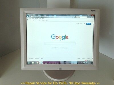 Repair Service for ELO ET1529L LCD Touch Screen Monitor Free Return Shipping