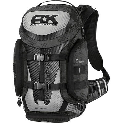 Borsa Cross American Kargo Backpack Trooper Black