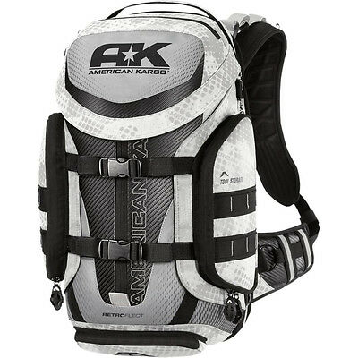 Borsa Cross American Kargo Backpack Trooper White