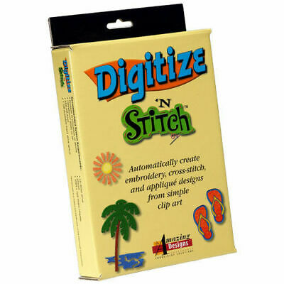 Amazing Designs Embroidery Software Digitze N Stitch