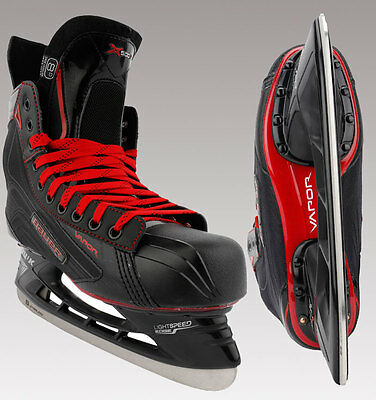 Bauer Vapor X500 LE Black Ice Hockey Skates - Sr