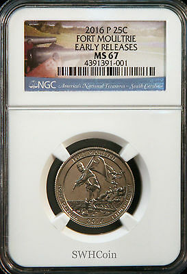 2020 S Tallgrass Prairie NP Quarter 25c NGC MS 67 PL PROOFLIKE First Releases
