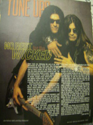 Large Ozzy Osbourne Clippings Pack