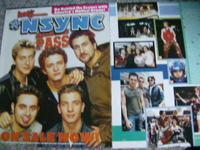 N Sync Clippings Pack, Justin, Joey, Lance, Chris, JC