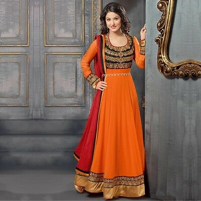 Anarkali Salwar Kameez Suit Indian Pakistani Bollywood Designer Party Dress