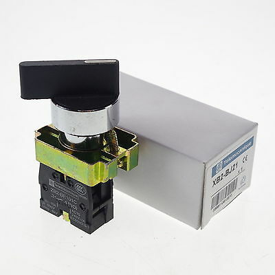 XB2BJ21C NO 2 Positions Latching Extended Lever Select Selector Switch