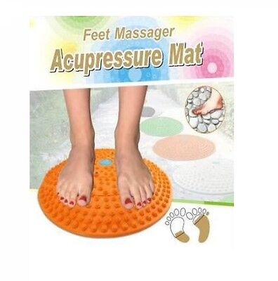 Acupressure Round Mat Foot Massager Therapy Pain Relief Acupuncture Feet Massage