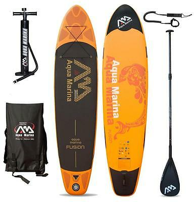AQUA MARINA FUSION SUP inflatable Stand Up Paddle Surfboard Modell 2016