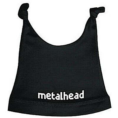 Metalhead Baby Hat Infant Metal Kids Boys Girls Colours Blue White, Black Pink