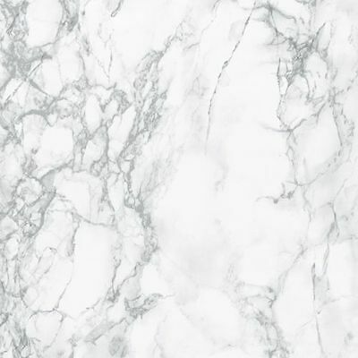Fablon Light Grey White Marble Sticky Back Plastic Self Adhesive Vinyl Film