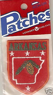 Souvenir Travel Patch Of The State Of Arkansas