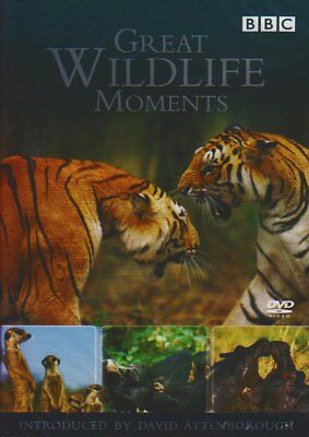 Great Wildlife Moments Introduced by David Attenborough (DVD)