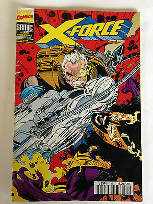 Marvel Comics Semic X-Force N°16 1995