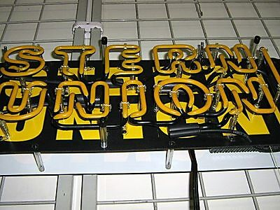 Western Union Neon Sign Double Sided. Very Clean. Works Perfectly. 5 Pics