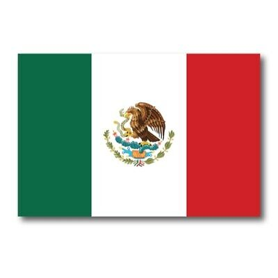 Mexico Mexican Flag Magnet 4x6 inch International Flag Decal for Car or Fridge