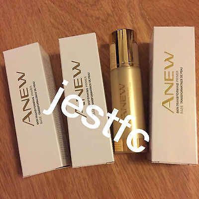 Avon~ANEW Skin Transforming Primer~x3 Lots STOCK UP!!