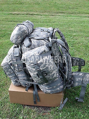 NEW inBox US ARMY MOLLE II SDS ACU RUCKSACK digital ASSAULT BACK PACK,BUG OUT 3D