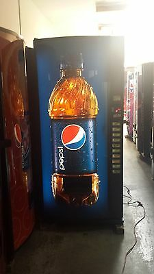 Pepsi Multi Price Soda Vending Machine Royal Vendors 768-10 Melin IV Refurbished