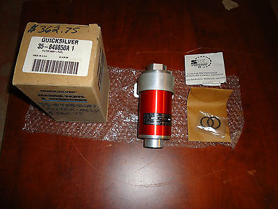 Mercury Marine Boat,fuel Filter Assy,part #35-848850A-1, Red New In Box