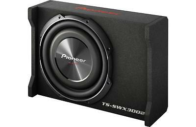 """New Pioneer TS-SWX3002 1500 Watts 12"""" Loaded Shallow Truck Subwoofer Enclosure"""
