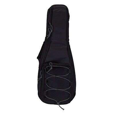 New Tiki Deluxe Black Concert Uke Ukulele Bag