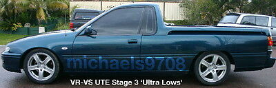 Stg3 Ultra Lows V6 VS Ute Front Commodore King Lowered Springs Low Kings Holden
