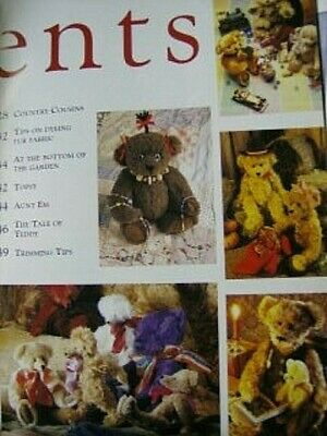 Your Step By Step Bear Making Book -Rose Hill -10 Bears Designs