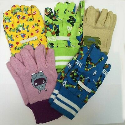 kids children gardening gloves