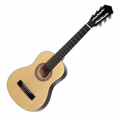 New Sanchez Classical Guitar for Kids 1/4 Size Beginner Nylon Strings (Gloss)