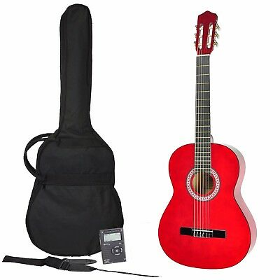 New Sanchez Classical Guitar Pack 3/4 Size with Nylon Strings for Beginner
