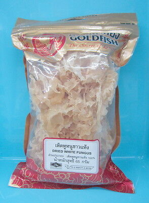 White  Fungus Mushrooms Dried 65 g  For Cooking 1 Bag