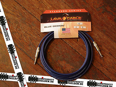 Lava Cable 15' Blue Demon 1/4 to 1/4