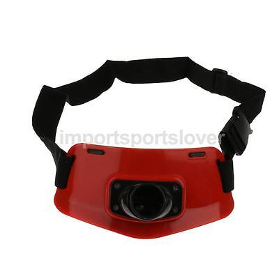 Sea Fishing Fighting Waist Belt Gimbal Pad Fish Rod Pole Holder Big Game Red