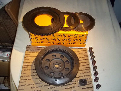 Moto Guzzi Eldorado Clutch Hard Parts Flywheel Pressure Plate Ring Gear Springs