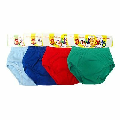 Bright Bots  boys  washable potty training pants  4 pack size Medium