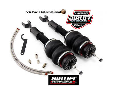 Audi A6 S6 RS6 C6 Air Lift Front Performance Kit New Air Ride Struts Suspension