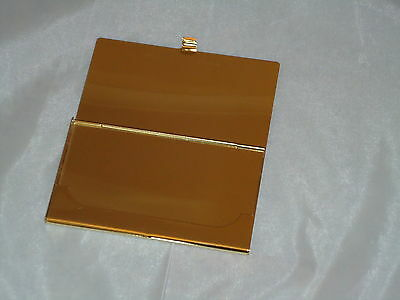 Gold Plated Business Card Holder - Rack stand A Nice Gift