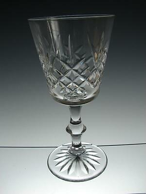 "Superb Edinburgh Crystal ""LOMOND"" Wine Glass - 15.6cms (6-1/8"") tall"