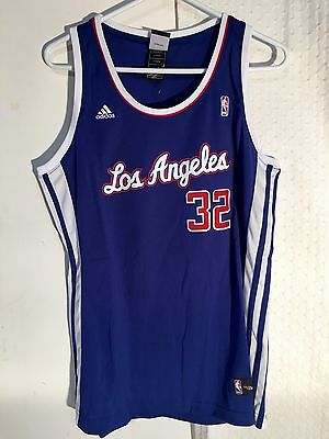 Nba La Los Angeles Clippers Basketball Shirt Jersey Vest Top Womens