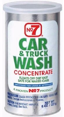Cyclo, 2 Pack, 8 OZ, #7, Car Wash Powder, Concentrate