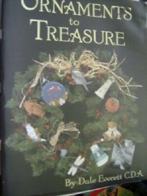 Ornaments To Treasure Painting Book Everett-Teddy/Lighthouse/Shells/Birds/Insect