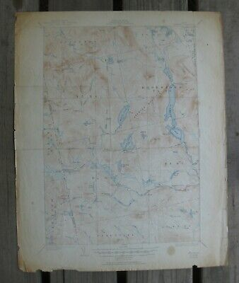 MAINE USGS Topo  MAP    SPENCER        1932 / 1951