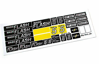 STICKERS for LEGO 5581 Magic Flash , Custom Builds, Models, etc.  Very nice!