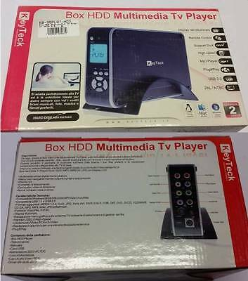SK KEYTECK EB-35PL07 Box HDD Multimediale TV Player