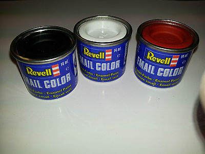Any 3 Revell Enamel Model Makers Paints. Simply message us the colours you need.
